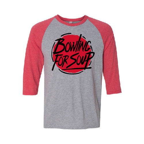 Bowling For Soup - Circle Logo Raglan