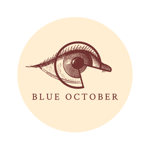 Blue October - Circle Eye Sticker