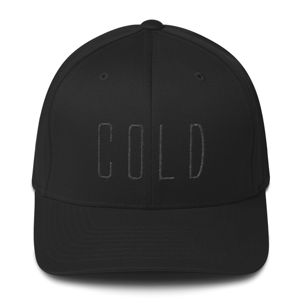 Cold - Flexfit Logo Hat
