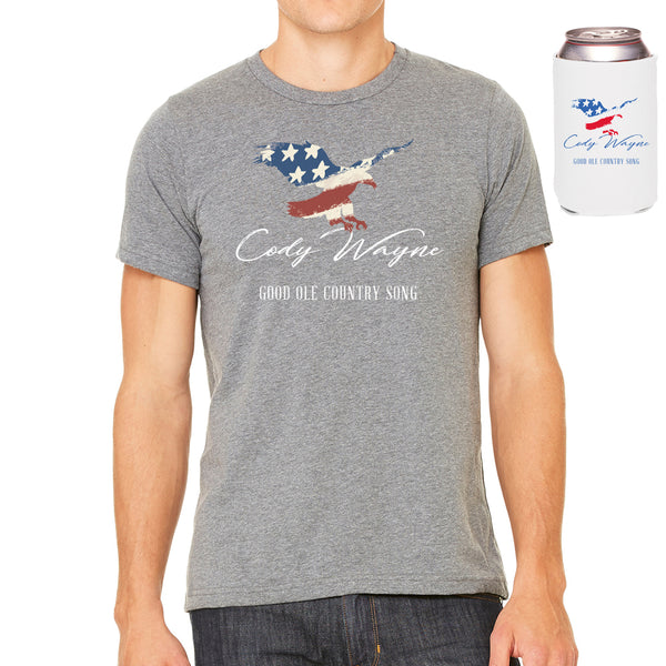 Cody Wayne - Good Ole Country Song Tee Bundle + Digital Download
