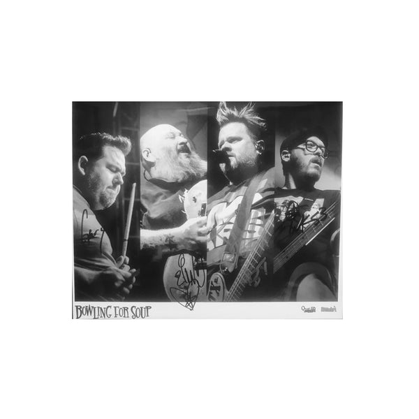 Bowling For Soup - Signed Drunk Dynasty 8x10 Photo