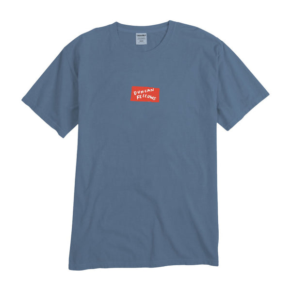 Duncan Fellows - Logo Tee (Blue)