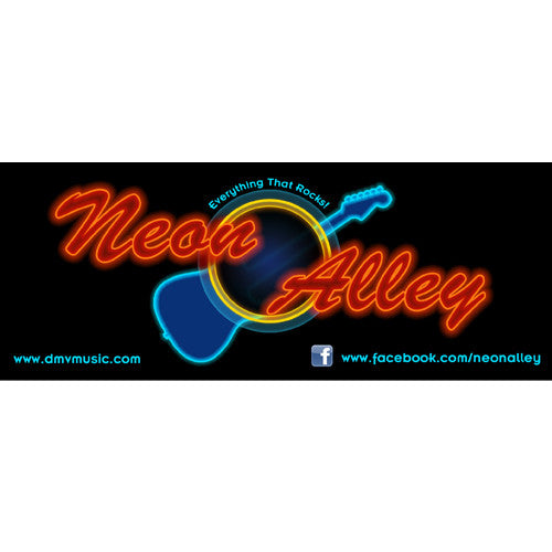 DMV Music - Neon Alley Sticker