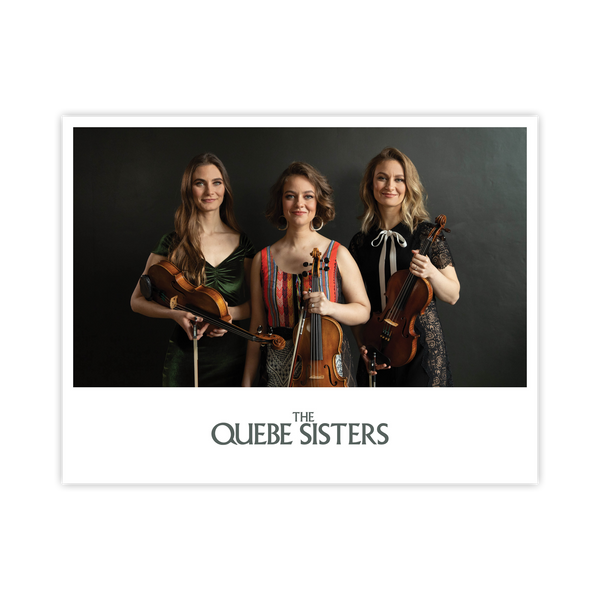 The Quebe Sisters - Dress and Fiddle Photo