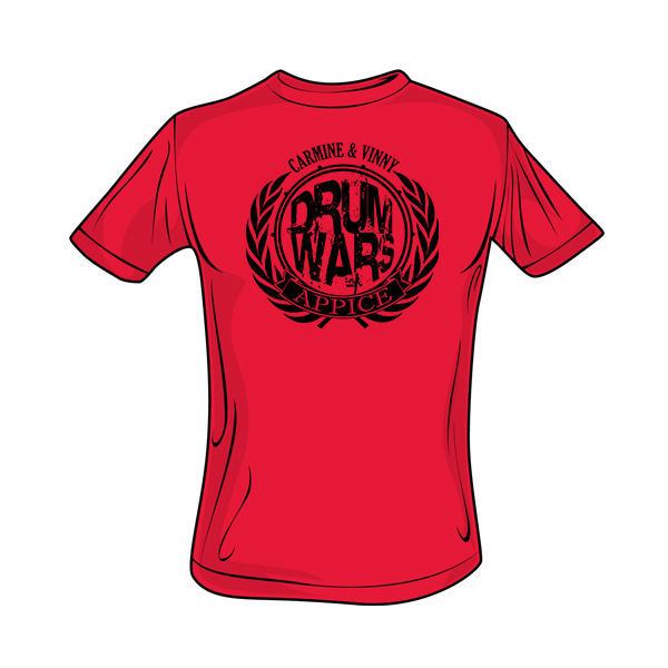 Appice - Drum Wars Tee (Red)