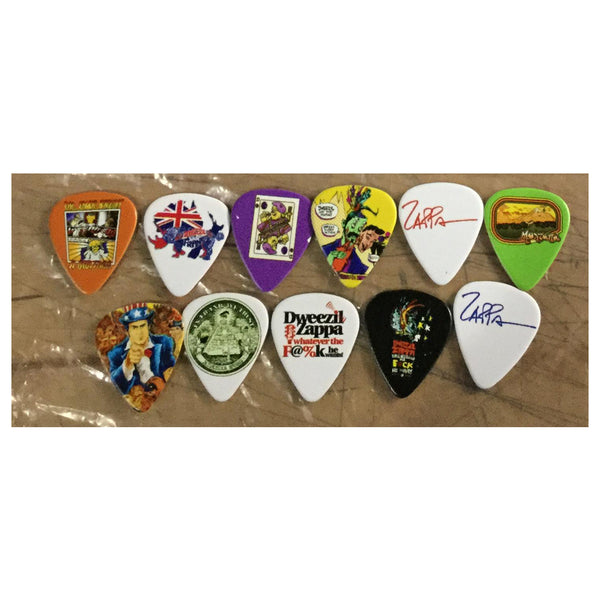 Dweezil Zappa - Artwork Guitar Pic Bundle