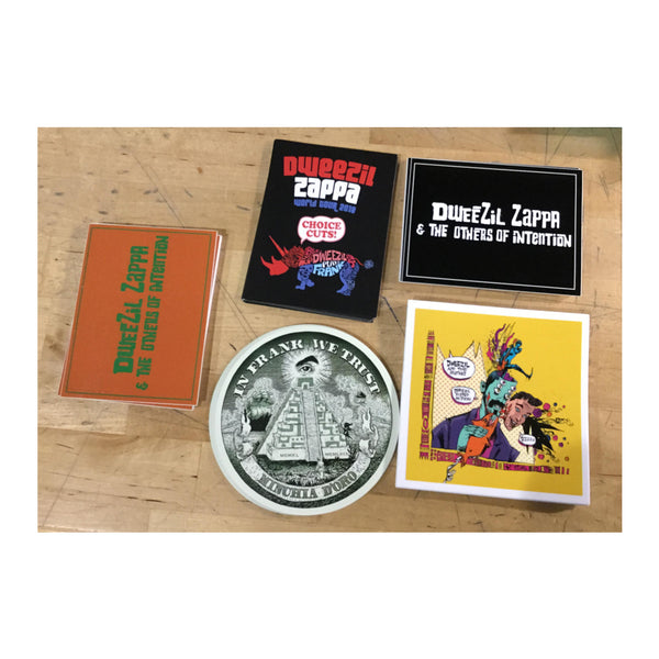 Dweezil Zappa - Sticker Bundle