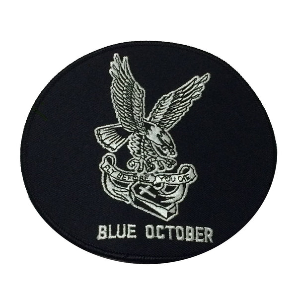 Blue October - Fly Before You Die Patch