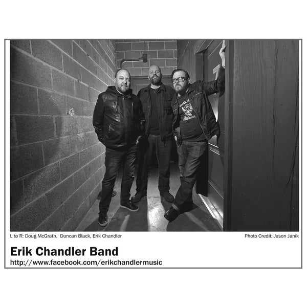 Erik Chandler Band - 8x10 Photo
