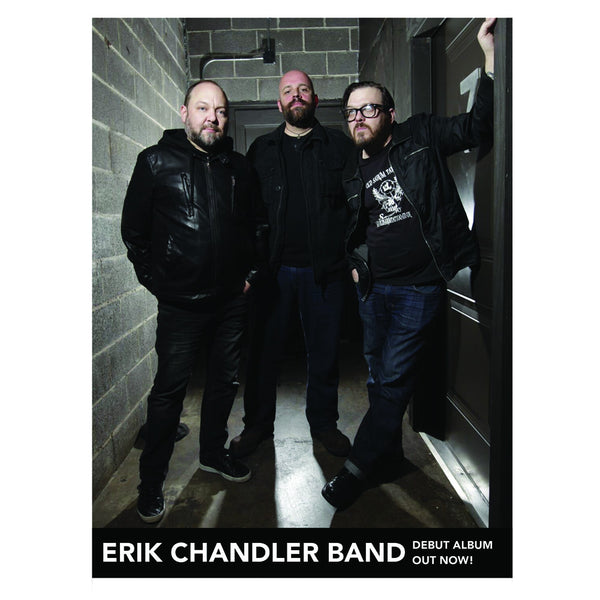 Erik Chandler Band - 11x17 Poster