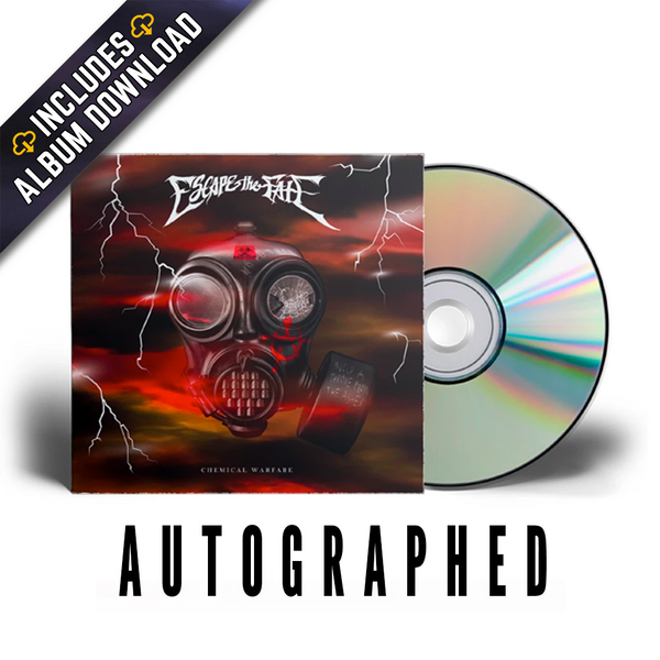 Escape The Fate - Chemical Warfare Signed CD (PRESALE 04/16/21)