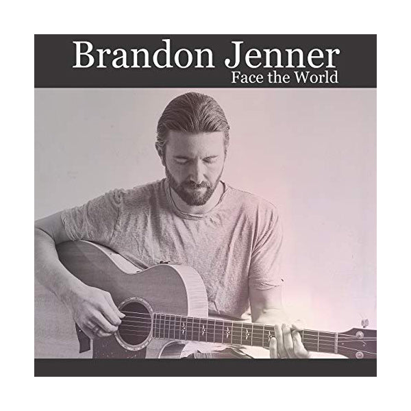 Brandon Jenner - Face The World Signed CD
