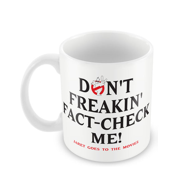 Jaret Goes To The Movies - Fact Check Mug