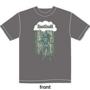 Fastball - Mens Dancing Skeleton Tee (Grey)
