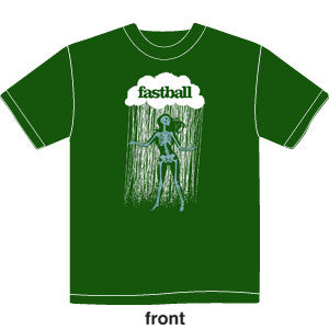 Fastball - Mens Dancing Skeleton Tee (Green)