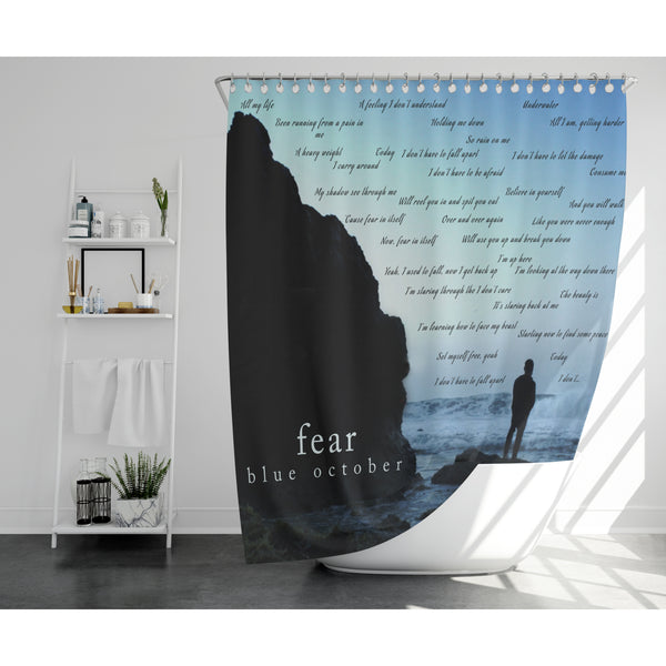 Blue October - Fear Shower Curtain