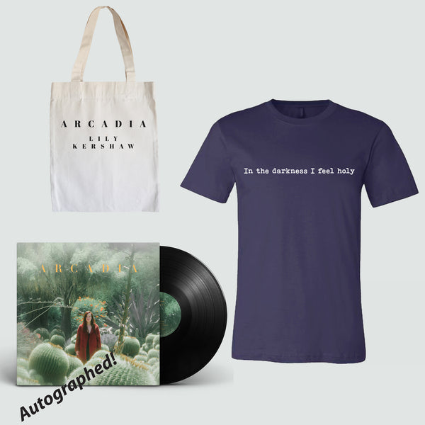 Lily Kershaw - Signed LP Bundle