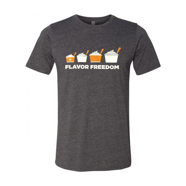 Orange Leaf Austin Uniform Store - Flavor Freedom Tee