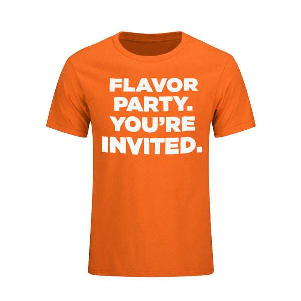 Orange Leaf Austin Uniform Store - Flavor Party Tee