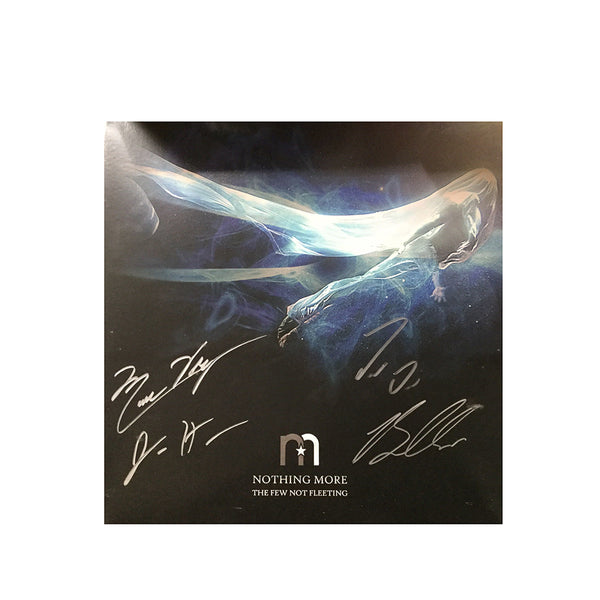 Nothing More - The Few Not Fleeting Signed Clear Vinyl