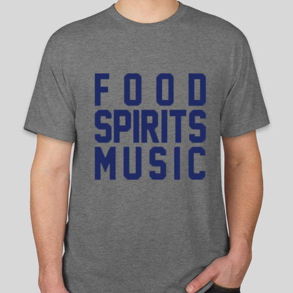 The Jones Assembly - Food Spirits Music Shirt