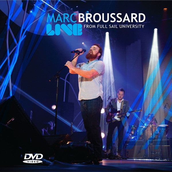 Marc Broussard - Live From Full Sail University DVD/Blu-ray