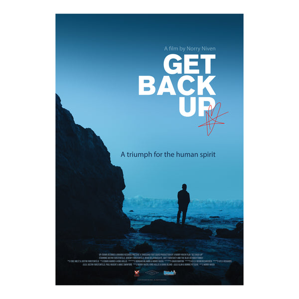 Blue October - Get Back Up Autographed Movie Poster (PRESALE SEPT 2020)