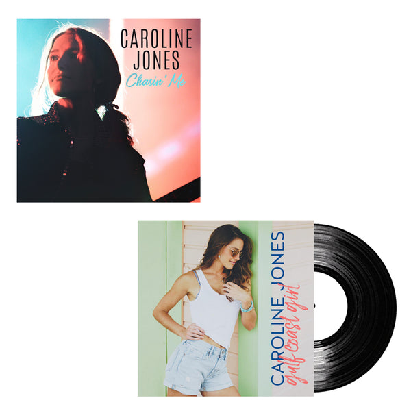 "Caroline Jones - Chasin' Me Digital Download + ""Gulf Coast Girl"" Vinyl Single (PRESALE WINTER 2019)"