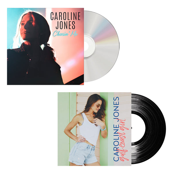 "Caroline Jones - Chasin' Me CD + ""Gulf Coast Girl"" Vinyl Single (PRESALE WINTER 2019)"