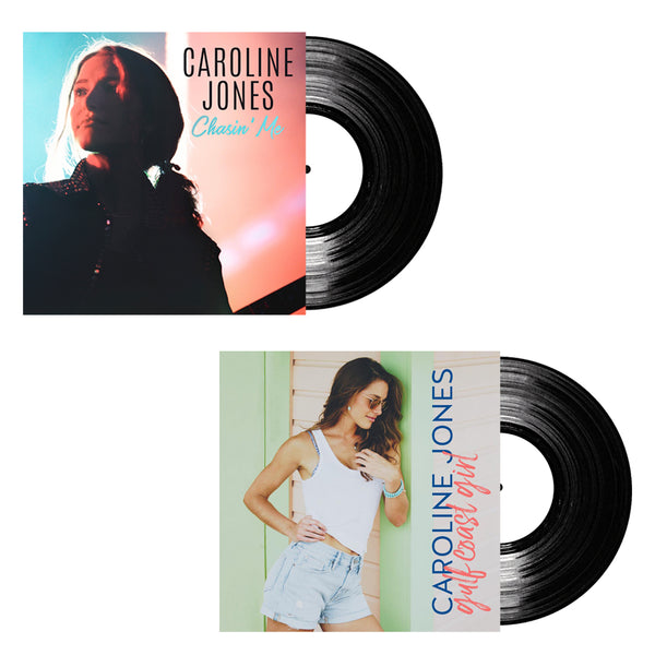 "Caroline Jones - Chasin' Me LP + ""Gulf Coast Girl"" Vinyl Single (PRESALE WINTER 2019)"