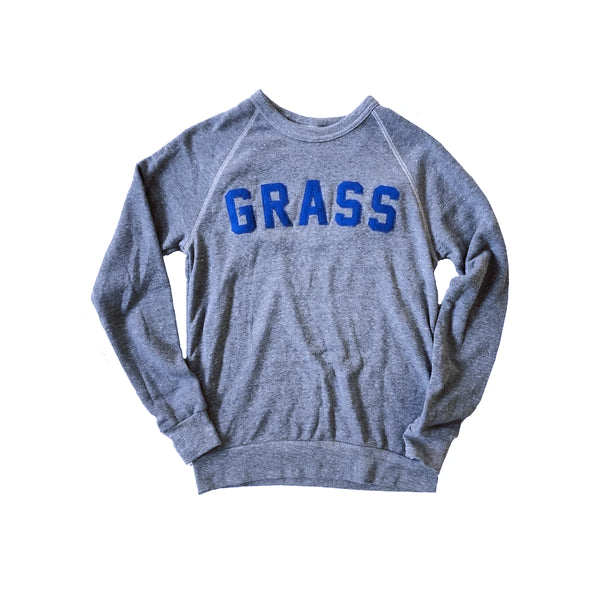 "The Bluegrass Situation - Limited Edition Oxford Pennant Felt Letter ""Grass"" Sweatshirt"