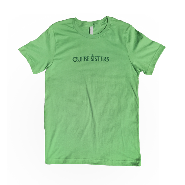 The Quebe Sisters - Green Logotype Tee