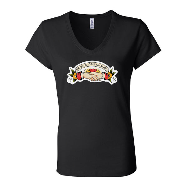 Gunner Black Co - People Can Change Ladies Tee