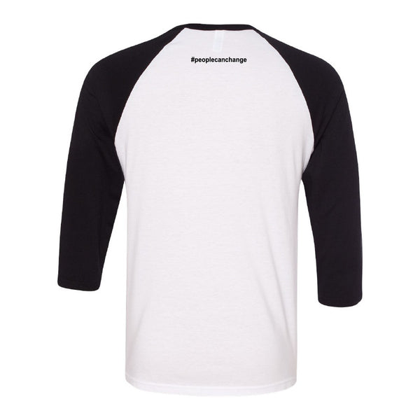 Gunner Black Co - People Can Change Baseball Tee