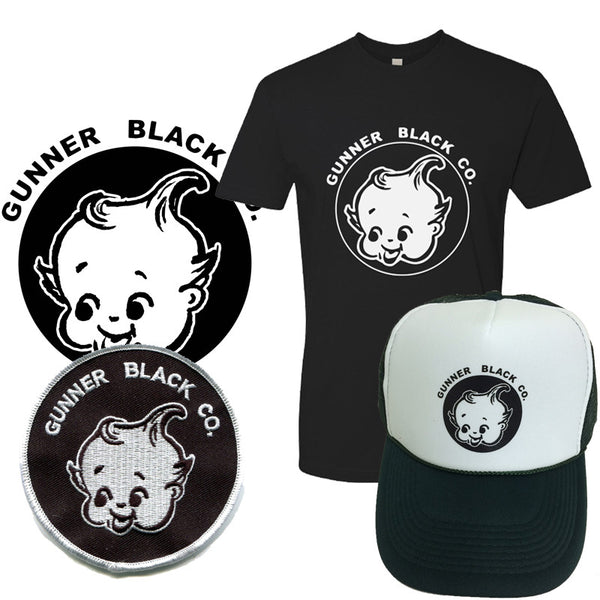 Gunner Black Co - Logo Apparel Bundle