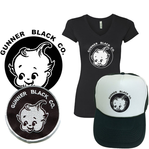 Gunner Black Co - Logo Apparel Ladies Bundle