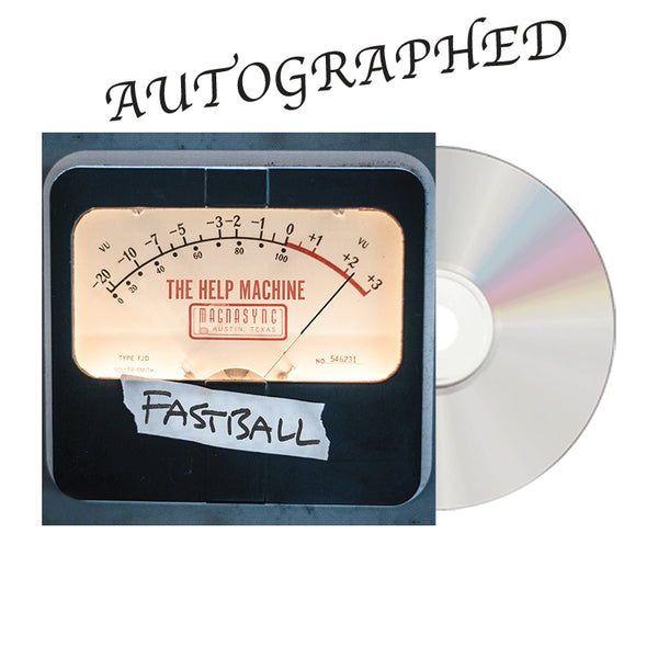 Fastball - The Help Machine Signed CD (PRESALE)