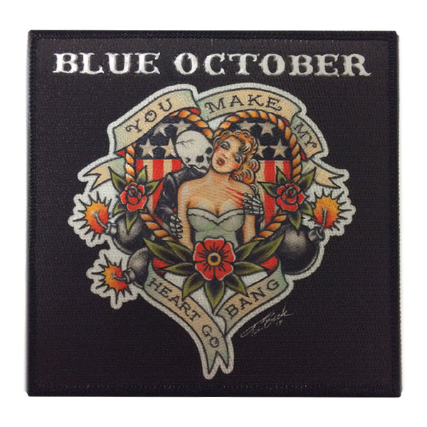 Blue October - Heart Go Bang Patch