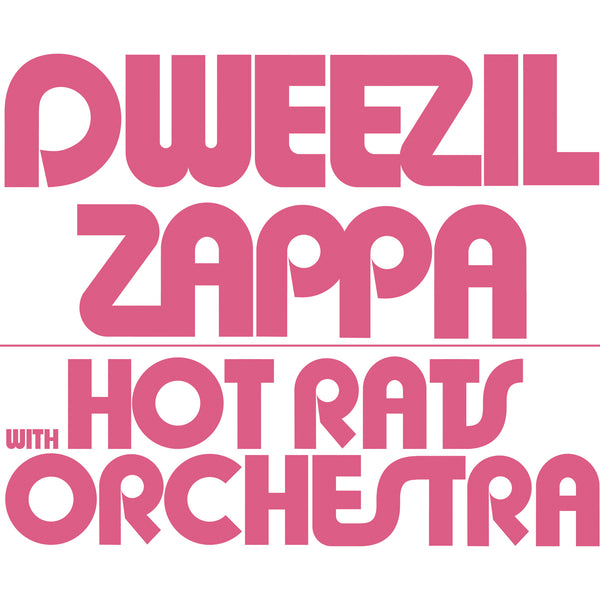 Dweezil Zappa - Hot Rats Orchestra Screen Printed Poster (Pink) (PRESALE)