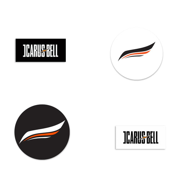 Icarus Bell - Sticker Bundle