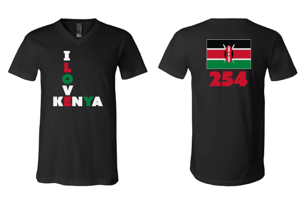 Diplomat House - Kenya 254 Men's V-neck Tee