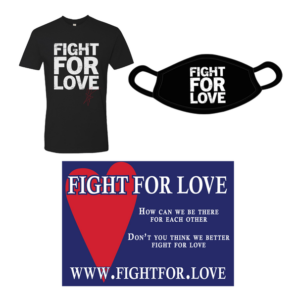 "Blue October - Fight For Love ""Help Start The Movement Bundle"" - Black"