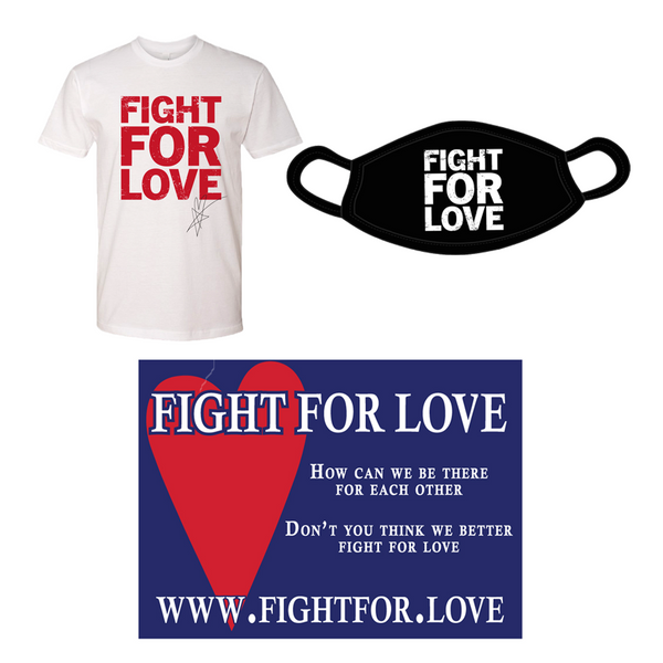 "Blue October - Fight For Love ""Help Start The Movement Bundle"" - White"