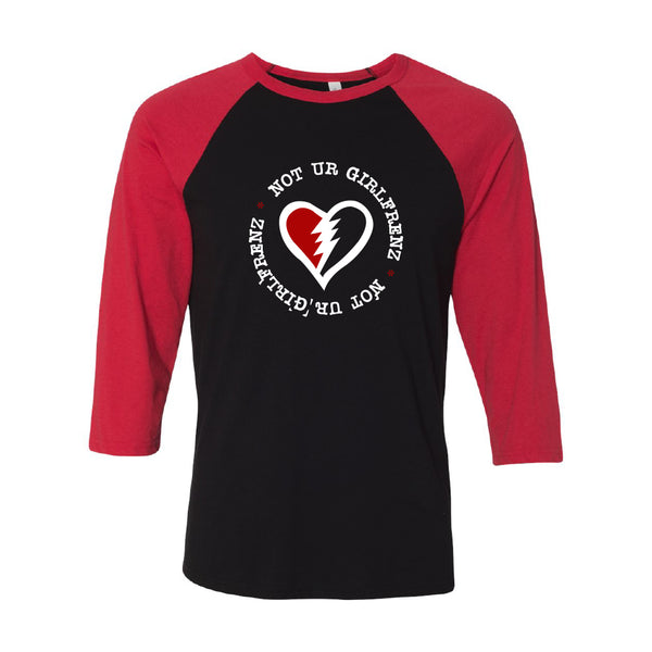 Not Ur Girlfrenz - Heart Logo Raglan