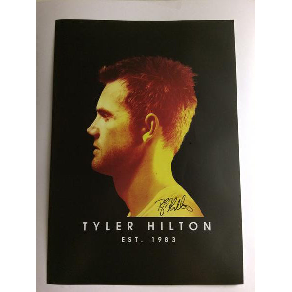 Tyler Hilton - Signed Indian Summer Album Promo Poster