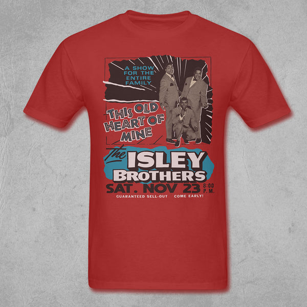 The Isley Brothers - Vintage Heart Of Mine Tee