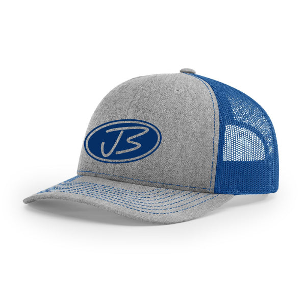 Jody Booth - Grey & Blue 3D Logo Cap
