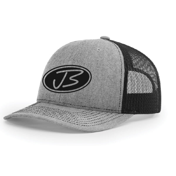 Jody Booth - Grey & Black 3D Logo Cap