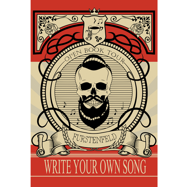 Justin Furstenfeld - Write Your Own Song Poster