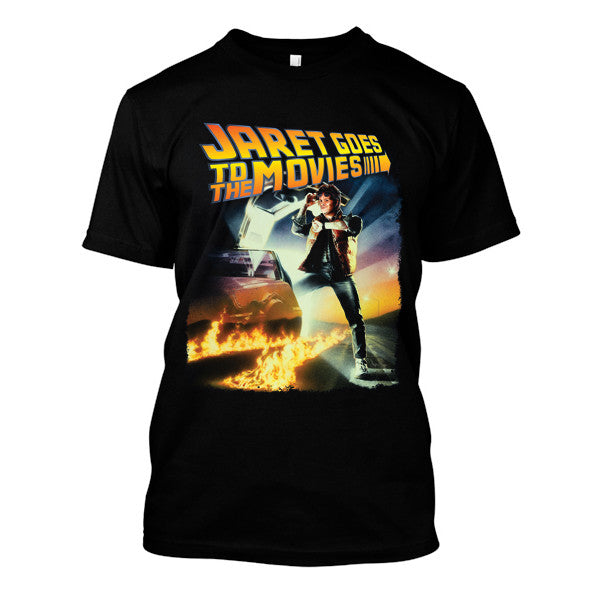 Jaret Goes To The Movies - Back To The Future Logo Tee
